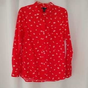 GAP nearly new cotton button down medium